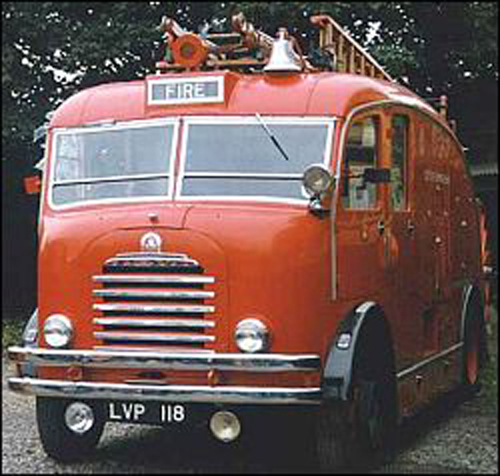 City of Birmingham Bedford SB Fire Engine LVP 118
